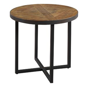 Parthenay Round End Table by Gracie Oaks