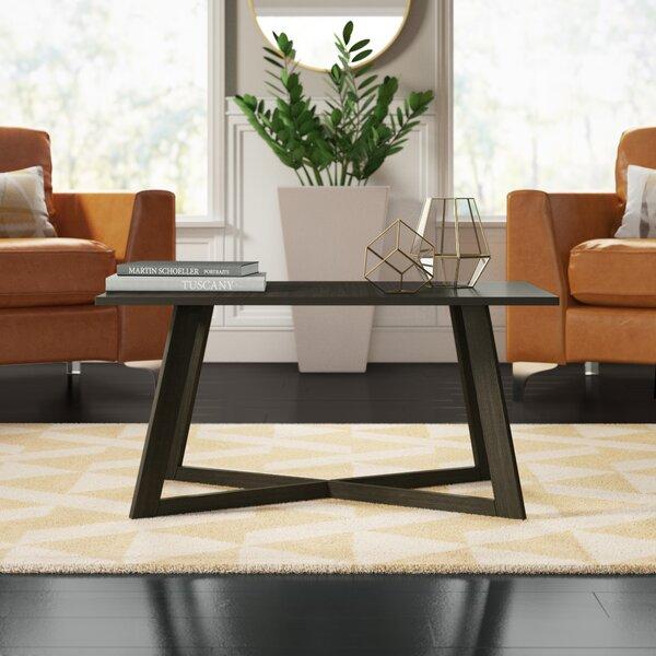 Dobbs Cross Legs Coffee Table By Mercury Row