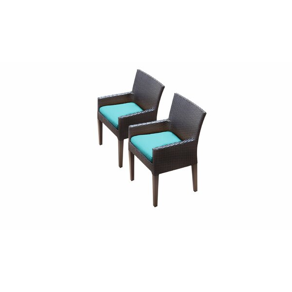 Fernando Patio Dining Chair with Cushion (Set of 2) by Sol 72 Outdoor Sol 72 Outdoor