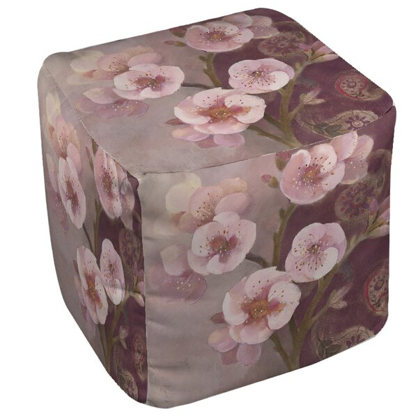Gypsy Blossom 2 Pouf by Manual Woodworkers & Weavers
