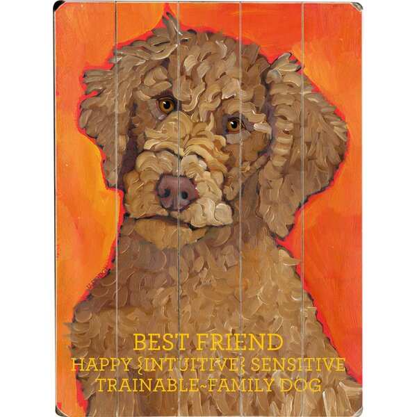 Best Friend Drawing Print Multi-Piece Image on Wood by Artehouse LLC
