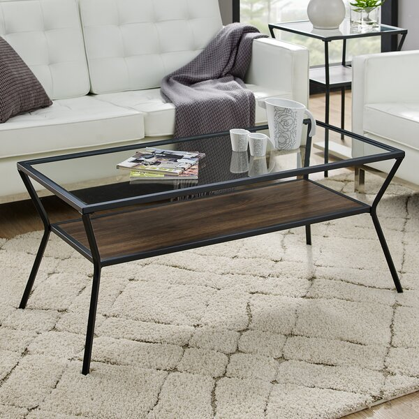 Howell Coffee Table With Storage By Williston Forge