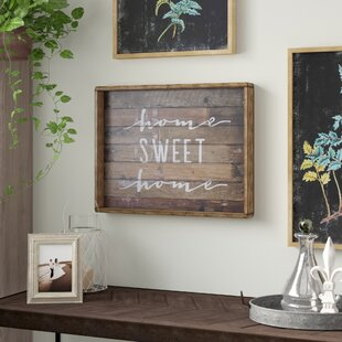 Home Sweet Sign Wall Décor