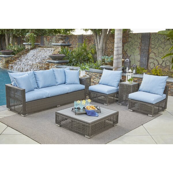 Sarver 6 Piece Sofa Set with Cushions by Ivy Bronx