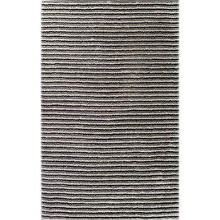 Thomas Machine-Woven Black/White Outdoor Area Rug OceanBridge