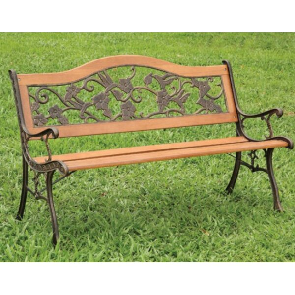 Carondelet Garden Bench by Alcott Hill