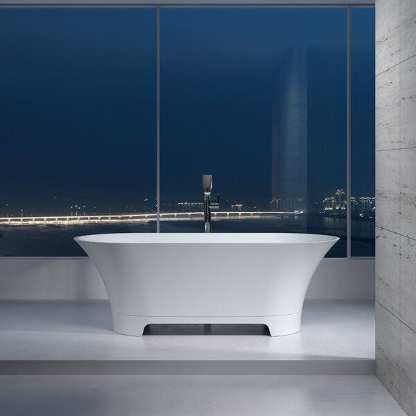 65 x 65 Freestanding Soaking Bathtub by InFurniture