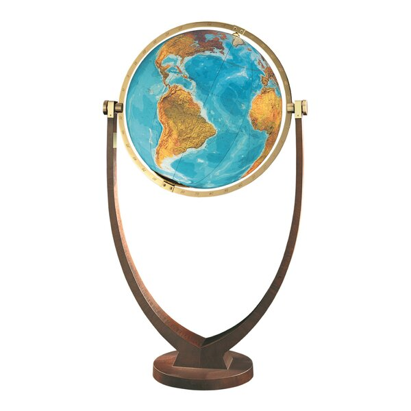Osnabruck Illuminated Floor Globe by Columbus Globe