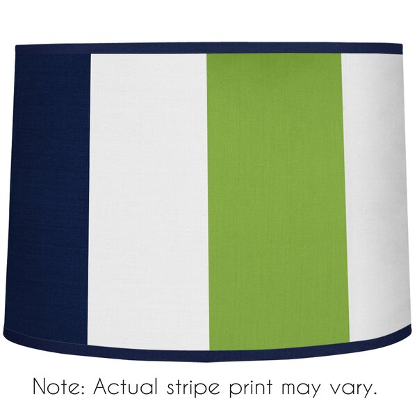 Stripe 10 Brushed Microfiber Drum Lamp Shade by Sweet Jojo Designs