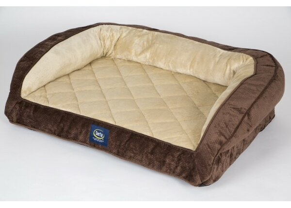 Ortho Quilted Couch Bolster by Serta