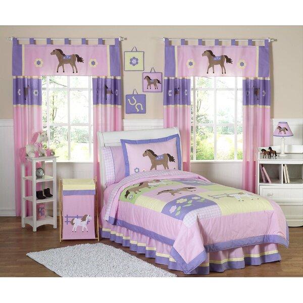 Pony 4 Piece Twin Comforter Set by Sweet Jojo Designs