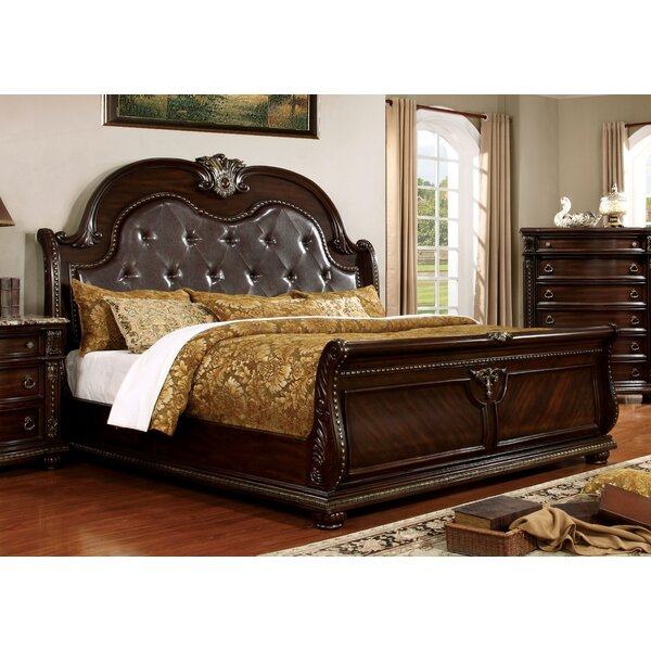 Evangeline Upholstered Sleigh Bed by Astoria Grand
