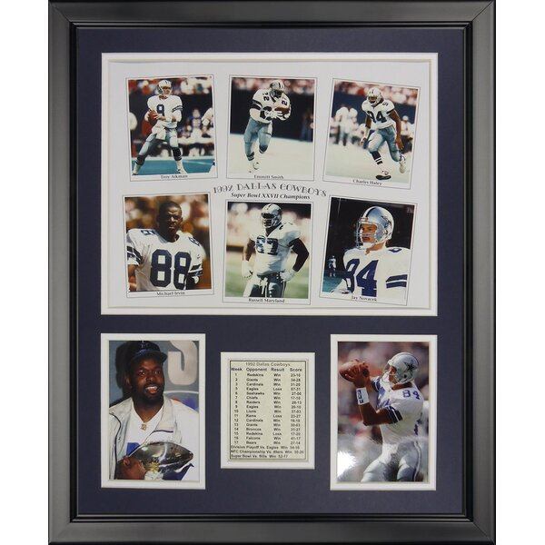 NFL Dallas Cowboys - 1992 Cowboys Framed Memorabili by Legends Never Die