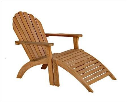 Teak Adirondack Chair by Three Birds Casual