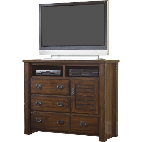 August Grove Bedroom Media Chests