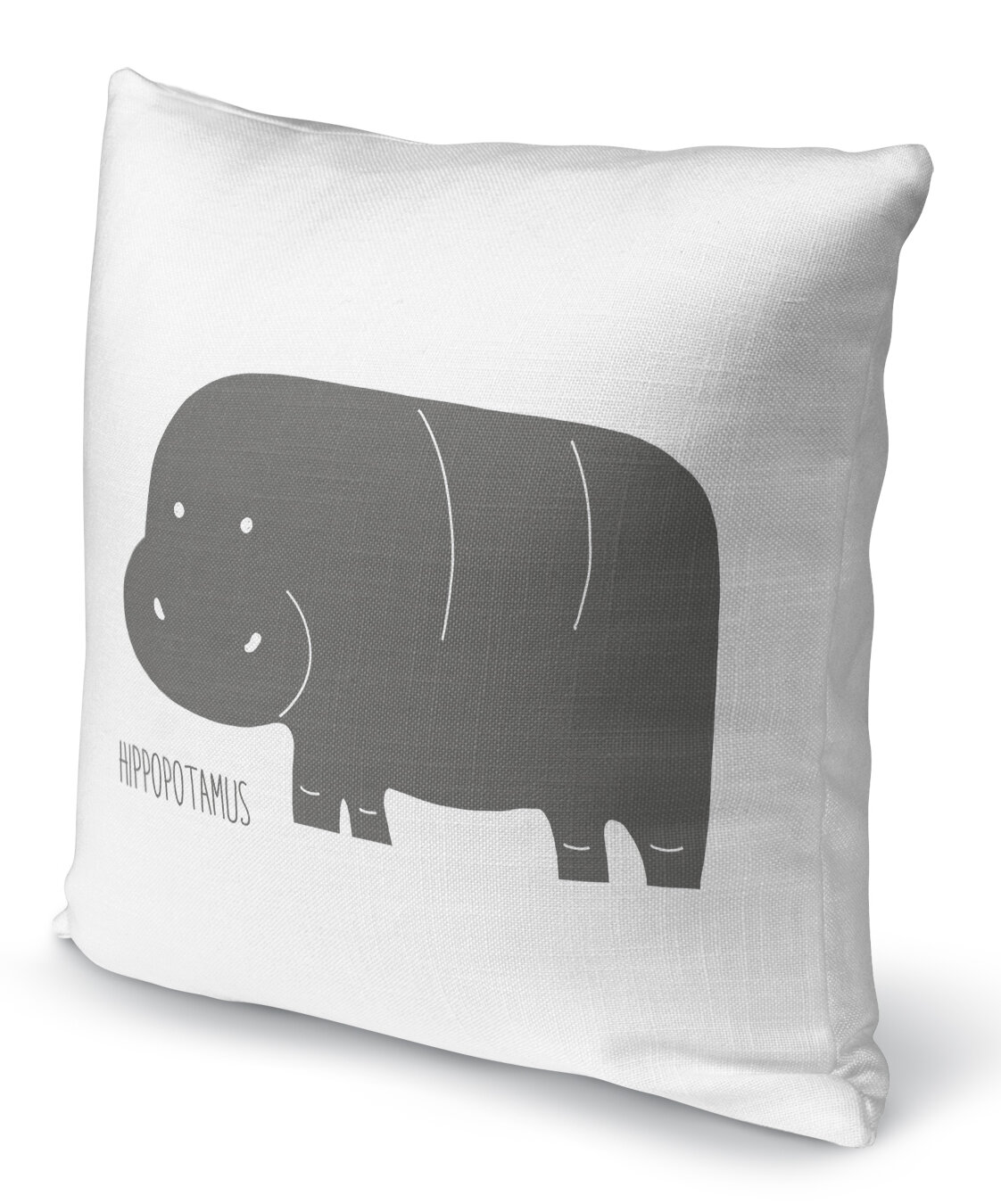 Isabelle Max Jacklyn Hippopotamus Throw Pillow Wayfair