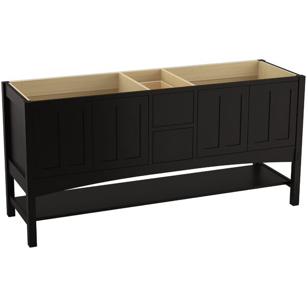 Marabou™ 72 Vanity Base Only with 4 Doors and 2 Drawers
