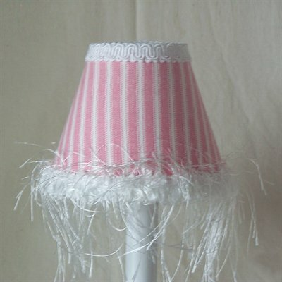 Cotton Candy Stripe Night Light by Silly Bear Lighting
