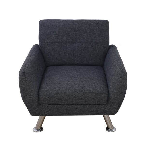 Mendoza Linen Armchair by Ebern Designs