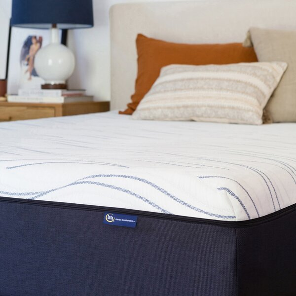 Perfect Sleeper 14 Medium Gel Memory Foam Mattress by Serta