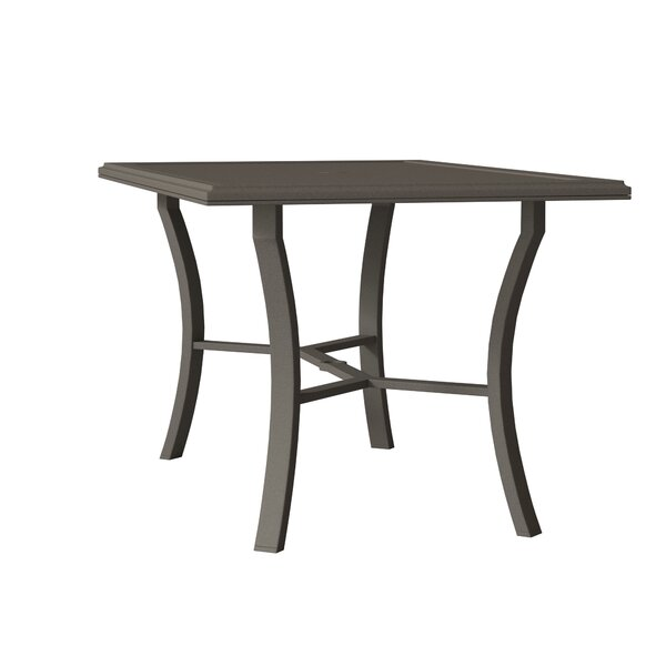 Banchetto Aluminum Bar Table By Tropitone