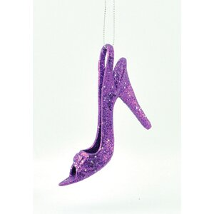 Lady Shoe Shaped Ornament (Set of 6)