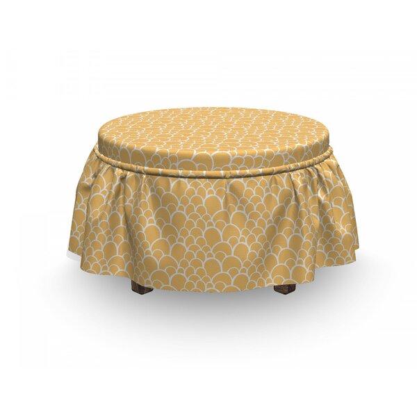 Deals Exotic Animal Skin Ottoman Slipcover (Set Of 2)