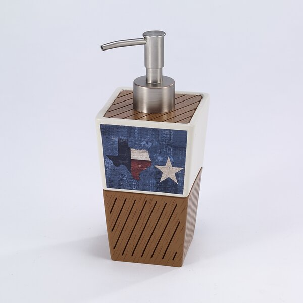 Baltrip Texas Soap Dispenser by Loon Peak