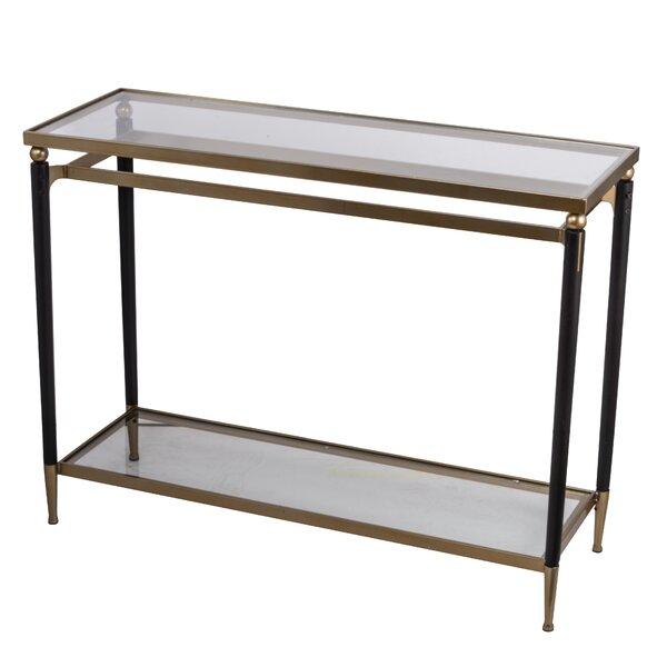 Hotchkiss Modern Chic 42-inch Console Table by Ebern Designs Ebern Designs