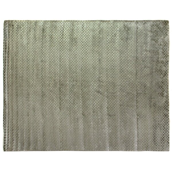 Dove Oxford Hand woven Green Area Rug by Exquisite Rugs