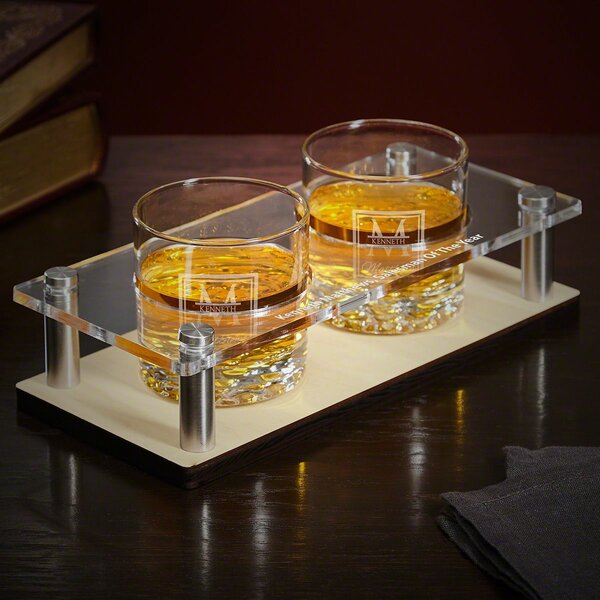Drew 5 Piece Cocktail Glass Set by Darby Home Co