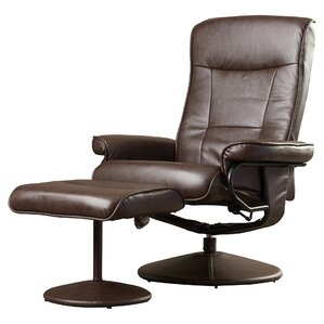 Holden Power Swivel Recliner with Ottoman by Zipcode Design