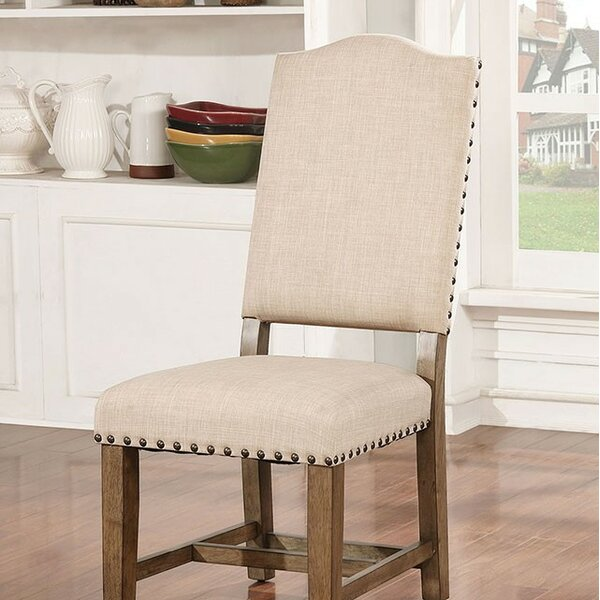 Katarina Upholstered Dining Chair (Set of 2) by One Allium Way