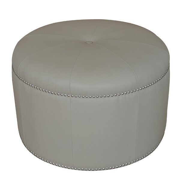Westmalle Tufted Pouf by House of Hampton