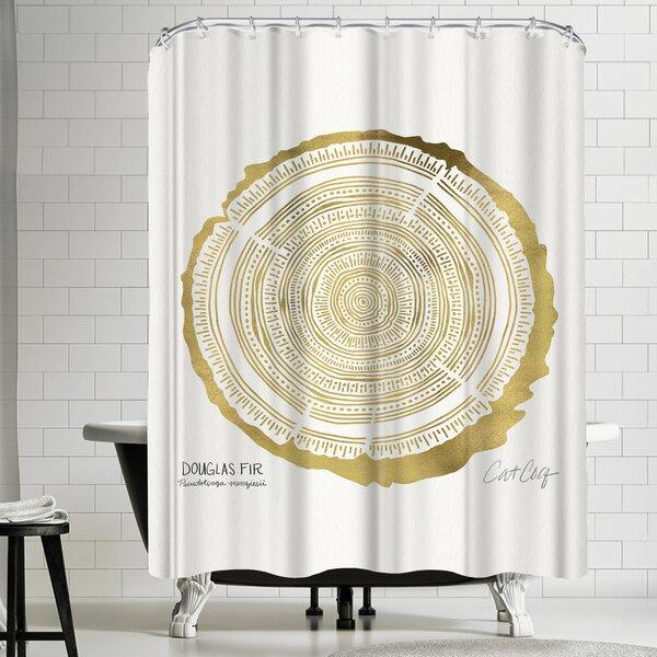 Douglasfir Shower Curtain by East Urban Home