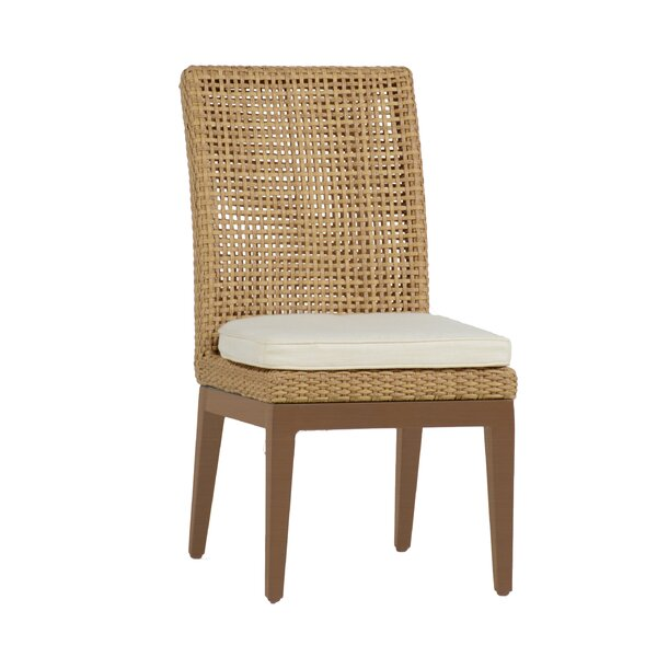 Peninsula Patio Dining Chair with Cushion (Set of 2) by Summer Classics