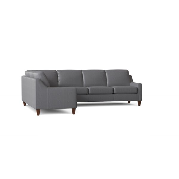 177 Leather Sectional