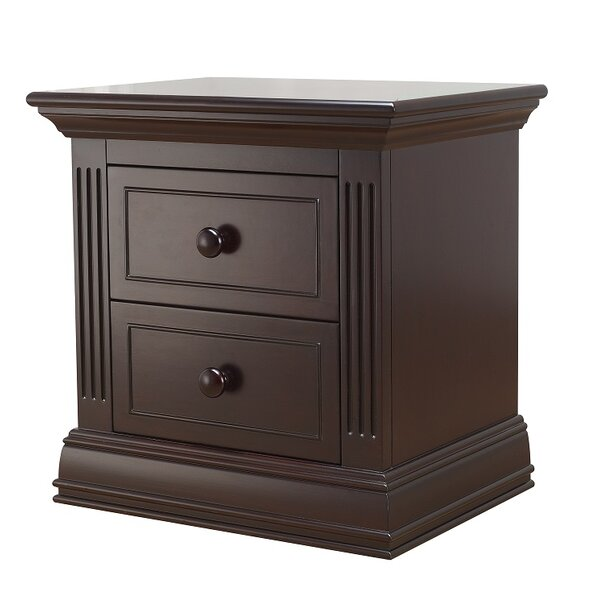 Providence 2 Drawer Nightstand by Sorelle