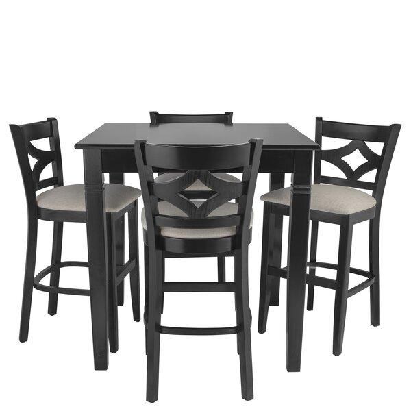 Weisman 5 Piece Pub Table Set by Red Barrel Studio