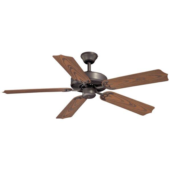 Landers 5-Blade Outdoor Ceiling Fan by Winston Porter
