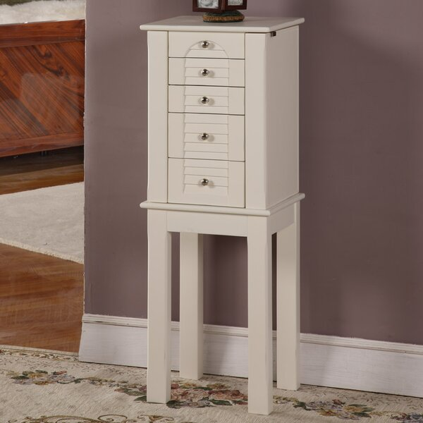 Winston Jewelry Armoire with Mirror by Wildon Home Wildon Home®
