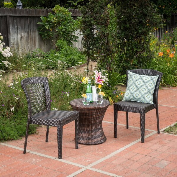 Labarre 3 Piece Rattan Seating Group by Charlton Home