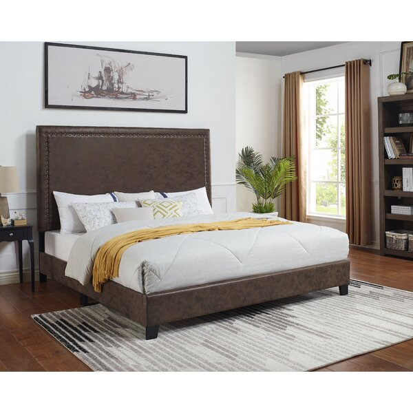 Debbra Upholstered Standard Bed By Red Barrel Studio by Red Barrel Studio Design