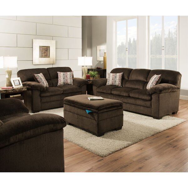 Sutton Reclining Configurable Living Room Set by Red Barrel Studio