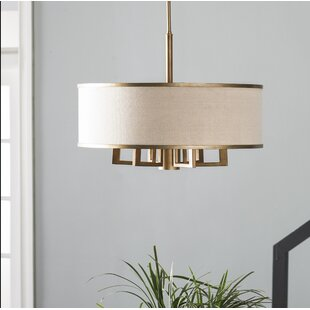Gold modern contemporary chandeliers youll love wayfair save aloadofball Images