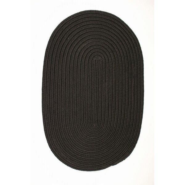 Mcintyre Black Indoor/Outdoor Area Rug by Winston Porter