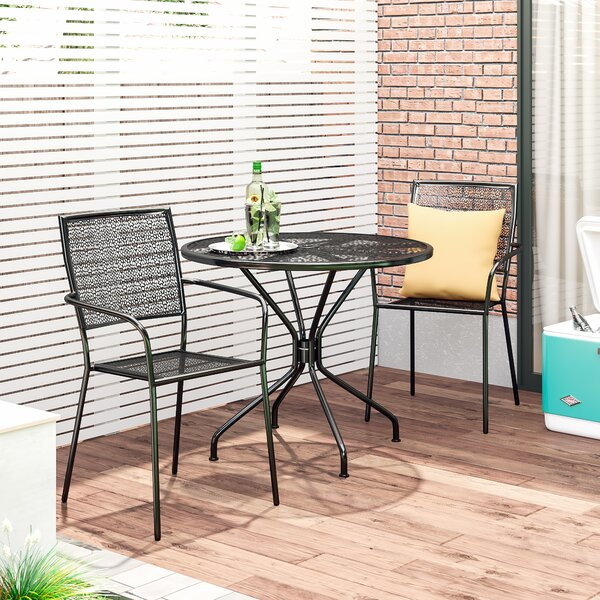Gerda 3 Piece Dining Set by Zipcode Design