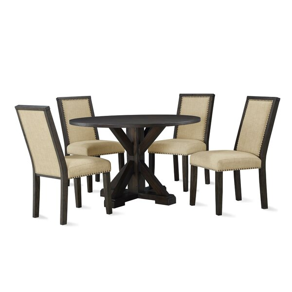 Johnsie 5 Piece Dining Set by Gracie Oaks