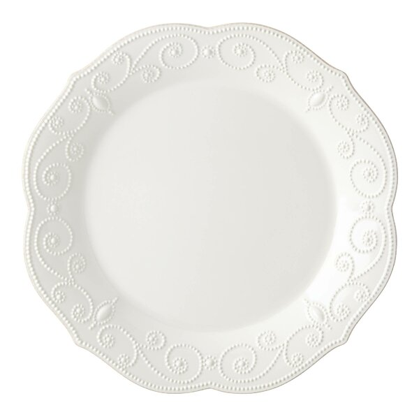 French Perle Round Serving Platter by Lenox