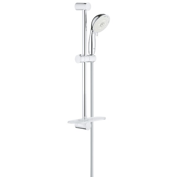 Tempesta Multi Function Slide Bar Shower Head With SpeedClean Nozzles By GROHE